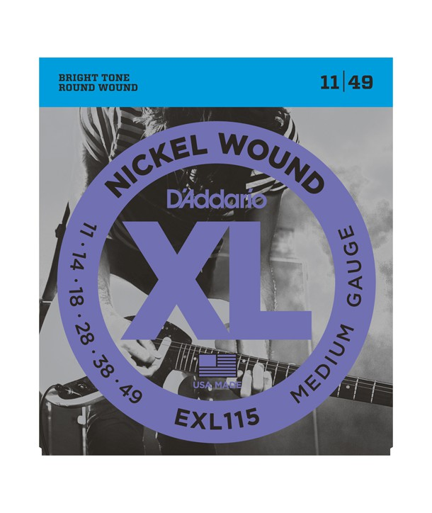 Electric strings set Nickel Wound Blues/Jazz-rock 11-49