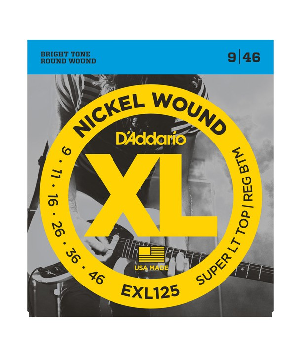 Electric strings set Nickel Wound Super LTHB 9-46