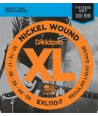 Electric strings set Nickel Wound Balanced Tension Light 10-46
