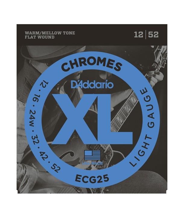 Electric strings set Chrome Light 12-52
