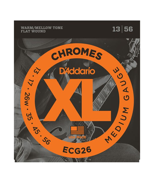 Electric strings set Chrome Medium 13-56