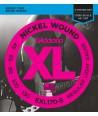Jeu de cordes Basse XL 5 CORDES Soft 45-130 filé rond nickel