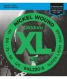 Jeu de cordes Basse XL 5 CORDES Super soft 40-125 filé rond nickel