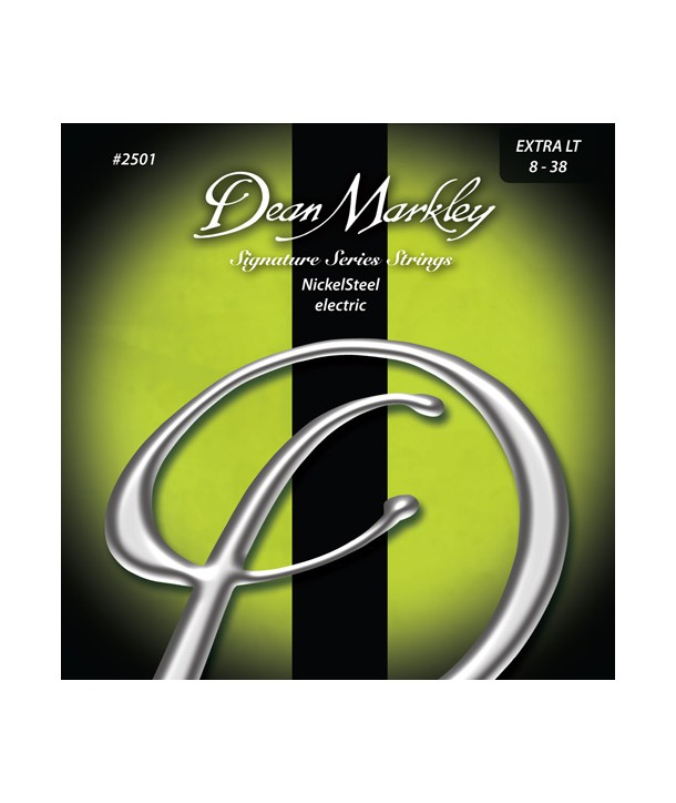 Electric strings set Nickel Steel Signature Extra-light 08-38