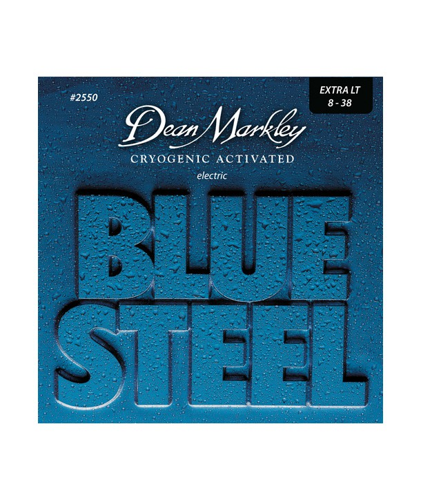 Electric strings set Blue Steel Extra-light 8-38