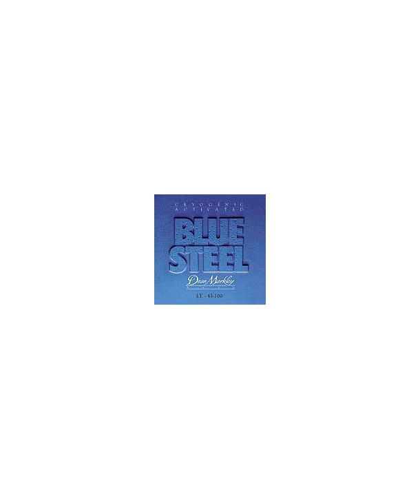 Jeu de cordes Basse BLUE STEEL Basse STAINLESS STEEL Light 45-100