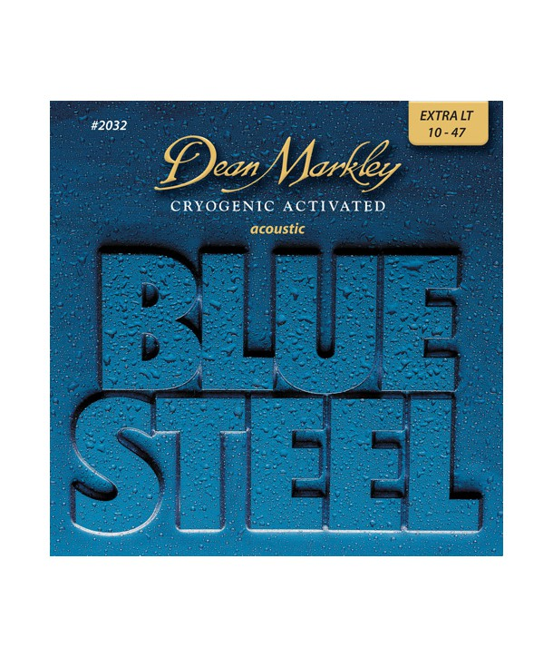 Acoustic strings set Blue Steel bronze Extra-light 10-48