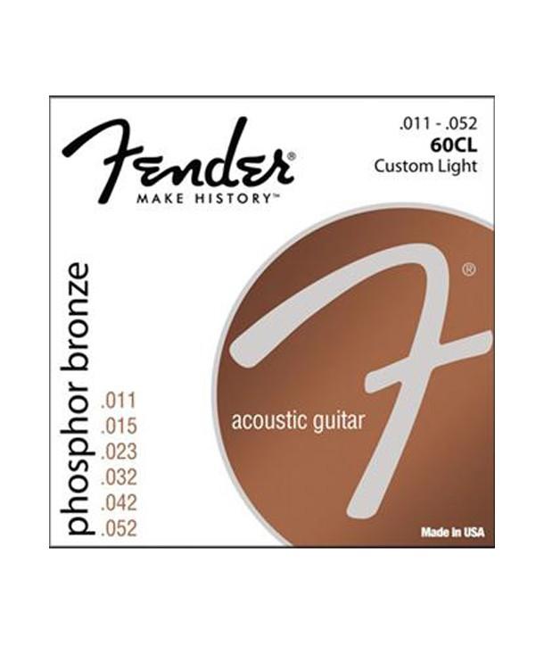 Acoustic strings set Phosphor Bronze Custom-light 11-52