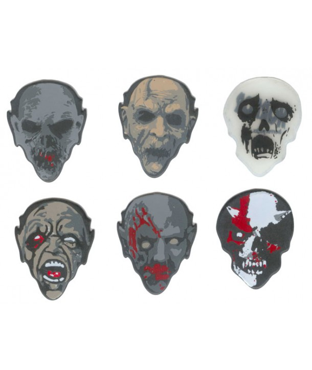 Lot de 6 médiators Monster-Picks monsters6