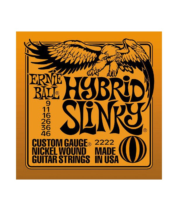 Electric strings set Hybrid Slinky 9-46
