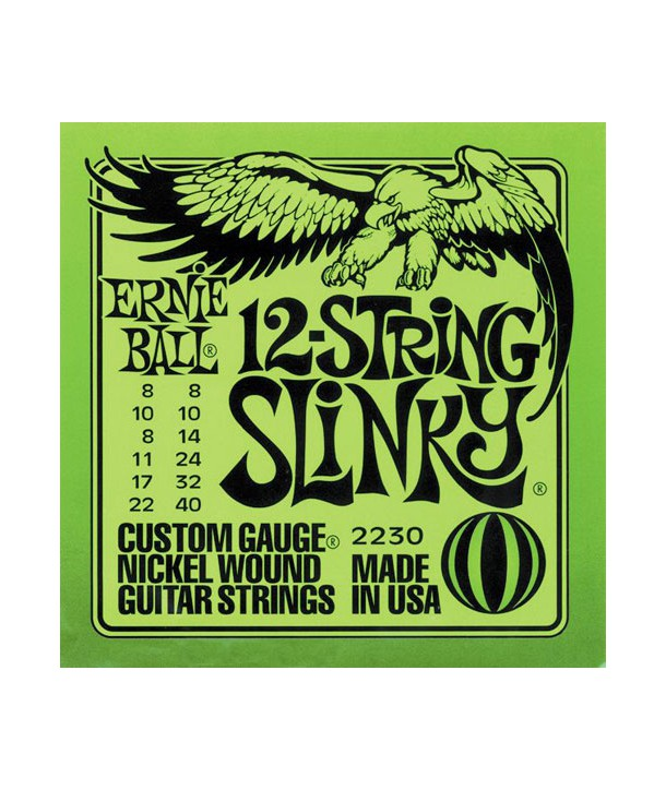 12 strings for electric guitar Slinky 8-40