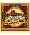 Acoustic strings set Earthwood Bronze Medium Light 12-54