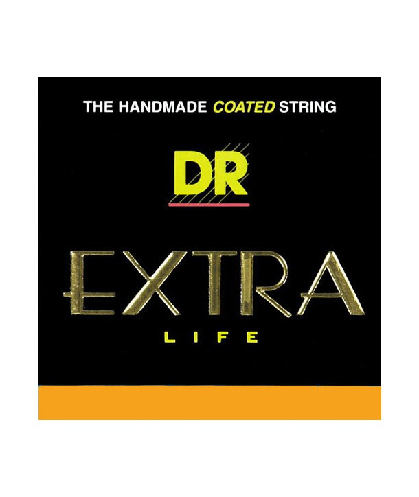 Acoustic strings set Extra Life Clear Coated Medium 12-54