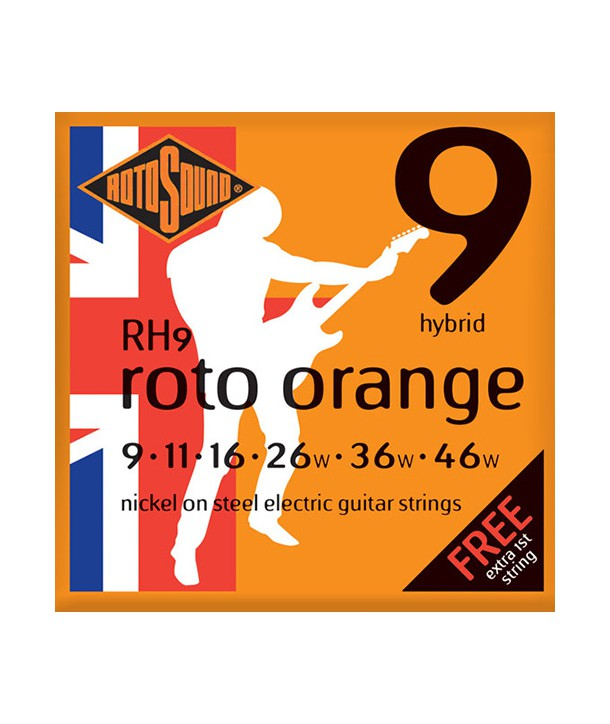 Electric strings set Roto Orange Hybrid Nickel 9-46
