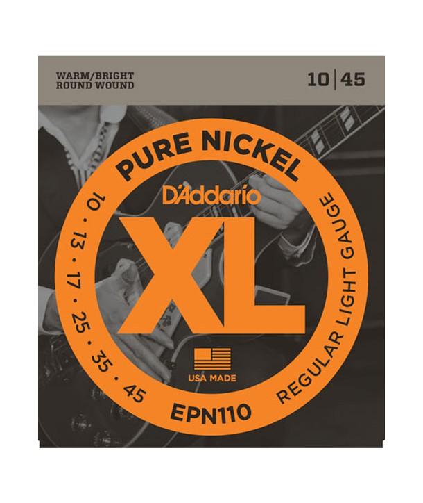 Electric strings set Regular Light Pure Nickel 10-46