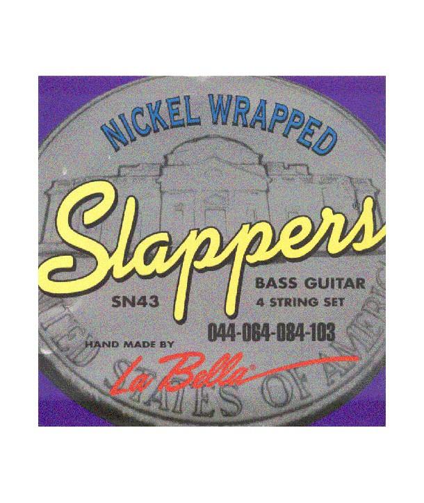 Jeu de cordes Basse SLAPPERS Light 44-103 SN43