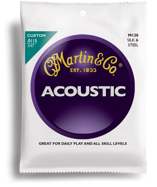 Acoustic strings set Silk & Steel custom-light 11,5-47