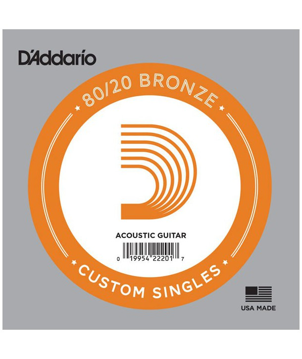 Single 24 acoustic 80-20 Bronze wound