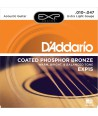 Acoustic Strings set EXP Coated Phosphor Bronze Extra-light 10-47