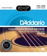 Acoustic strings set EXP Coated Phosphor Bronze Light 12-53