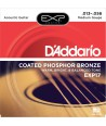Acoustic strings set EXP Coated Phosphor Bronze Medium 13-56