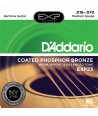 Acoustic strings set EXP Coated Phosphor Bronze Baritone 16-70