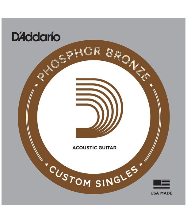 Acoustic single Phosphor Bronze wound 022