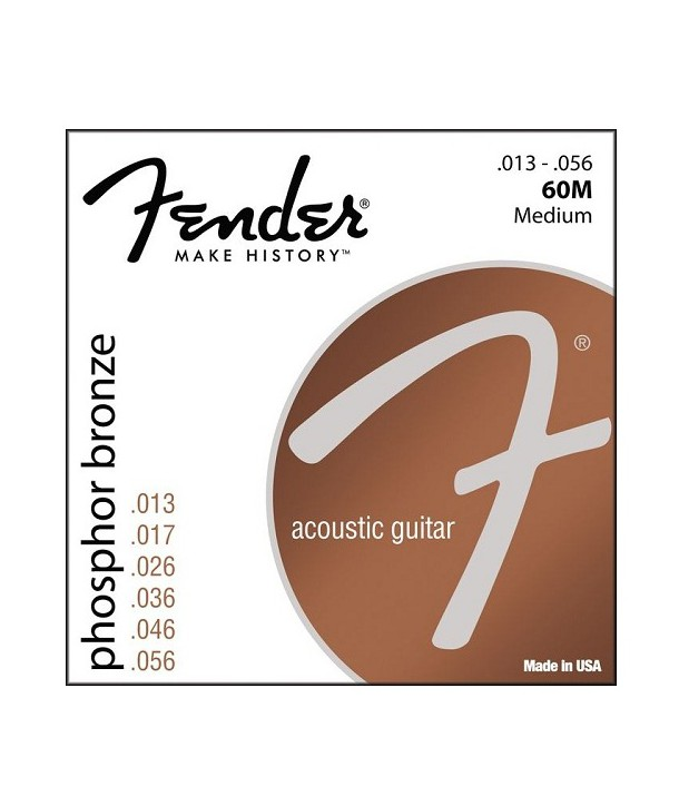 Acoustic strings set Phosphor Bronze Medium 13-56