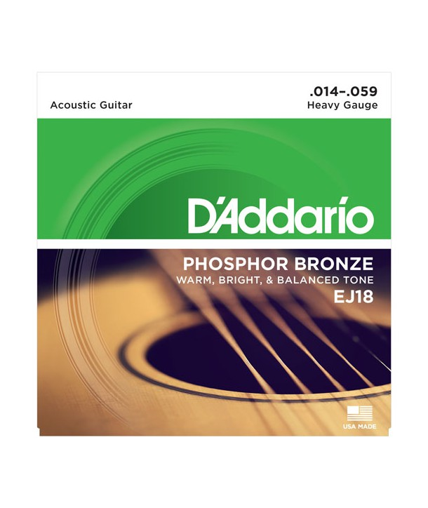 Acoustic strings set Phosphor Bronze Heavy 14-59