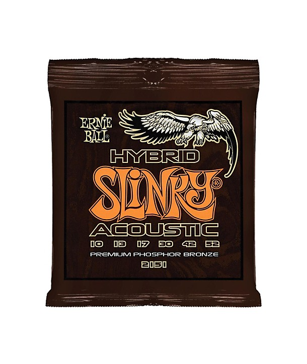 Acoustic strings set Earthwood Phosphor Bronze Rock & Blues 10-52