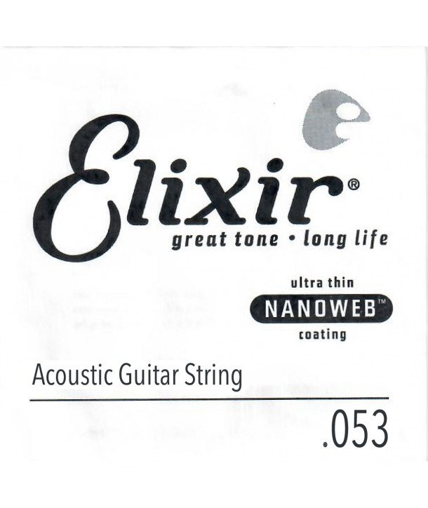 Single 53 acoustic String Nanoweb Bronze wound