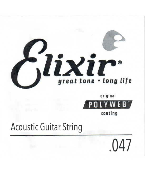 Single 47 acoustic String Polyweb Bronze wound