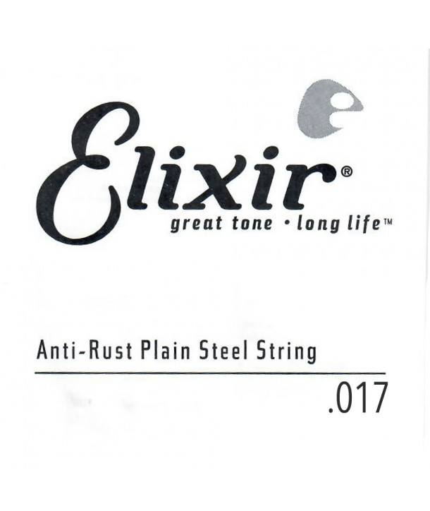 Acoustic or electric single string Plain Steel Coated 17