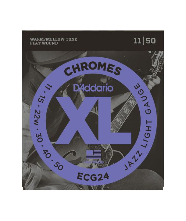 Electric strings set Chrome Jazz light 11-50