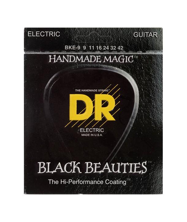 Jeu de Cordes électriques Extra Life Light Black Beauties 9-42
