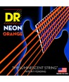 Electric strings set DR SuperStrings Neon Hi-Def Orange 11-50Jeu de Cordes électriques DR SuperStrings NEON Hi-Def Orange 11-50