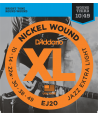 Electric strings set XL Nickel Round Wound Jazz Extra Light 10-49