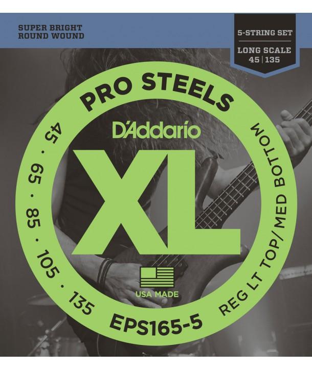 Jeu de corde basse PROSTEEL 45-135 Regular Light Top/Médium Bottom 5 cordes