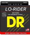 Jeu de cordes Basse LO-RIDER Light Stainless Steel 40-100 filé rond