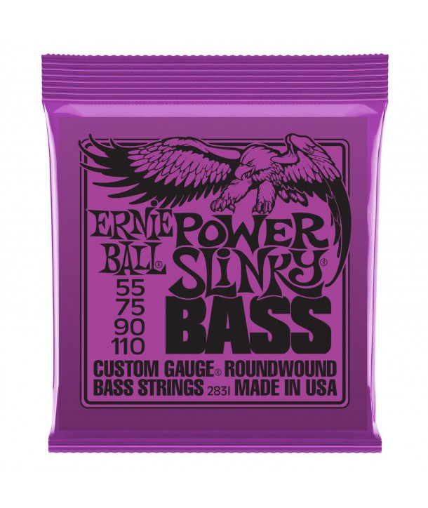 Jeu de cordes Power Slinky Bass 55-110