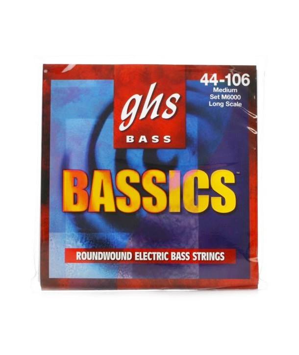 Jeu de cordes Basse BASSICS Basse Médium 44-106 filé rond