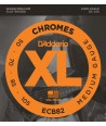 Jeu de cordes Chrome basse filé plat Regular 50-105