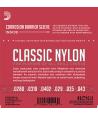 Jeu de cordes classique CONSERVATOIRE nylon tension Normale