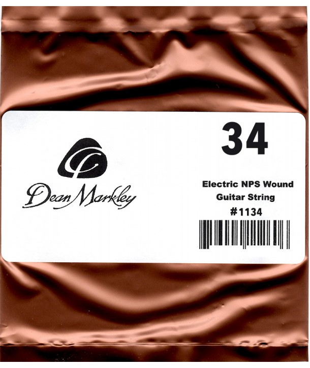 Electric single string Nickel Coated 34