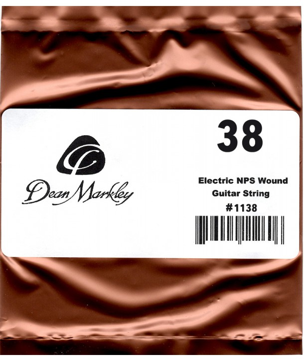 Electric single string Nickel Coated 38