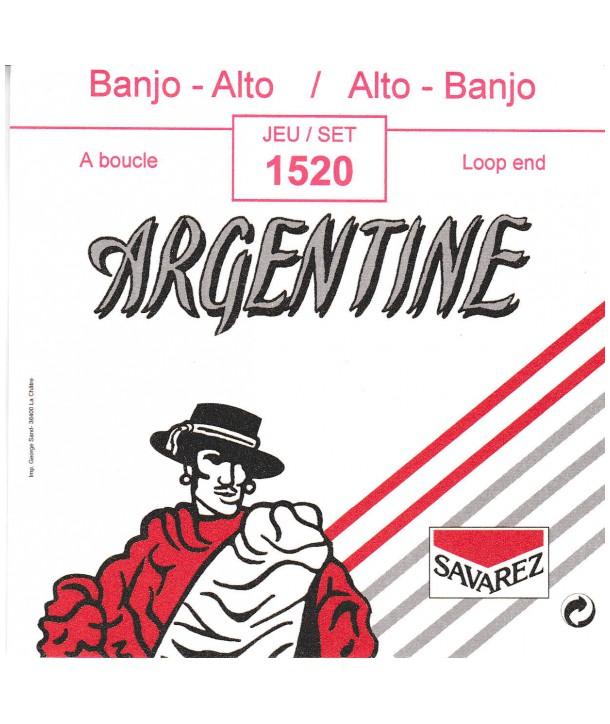 Jeu de cordes pour Banjo Alto à boucle