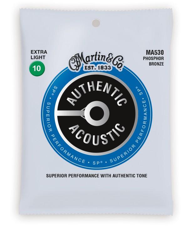 Westerngitarresaiten Authentic SP 80/20 Bronze Extra-light 10-47