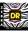 Acoustic-electric strings set Zebra Medium Lite 11-50
