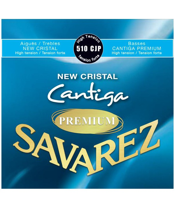 Classical strings set New cristal Cantiga Premium Hard tension