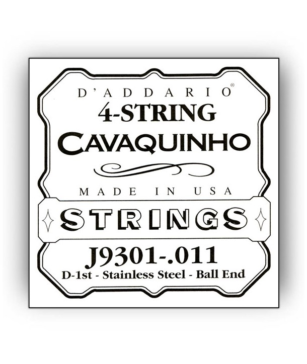 Single Cavaquinho Plain Steel 011/J93 1st